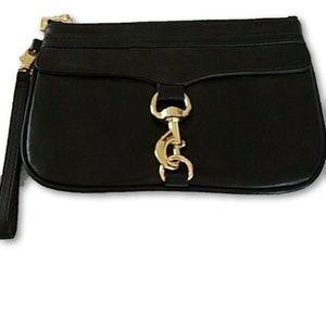 Rebecca Minkoff Black Leather Clutch Perfect!